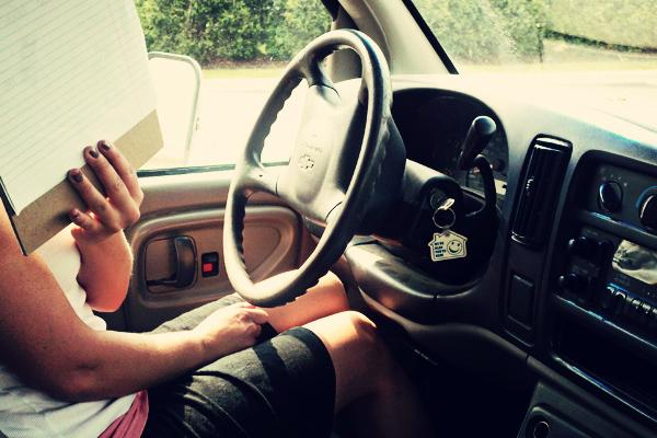 girl-driving-truck