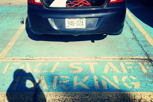 staff-parking